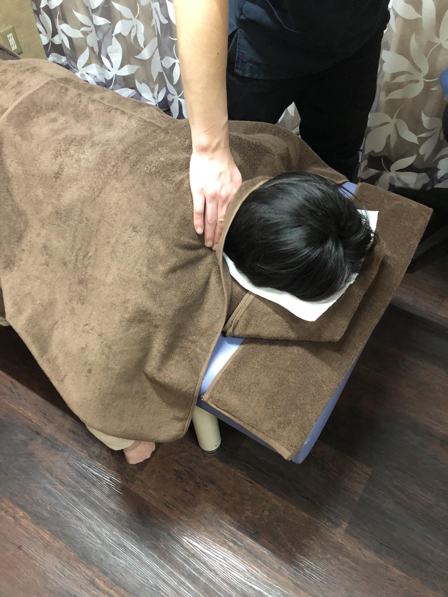 MAS療法LABO健美屋 施術の様子③