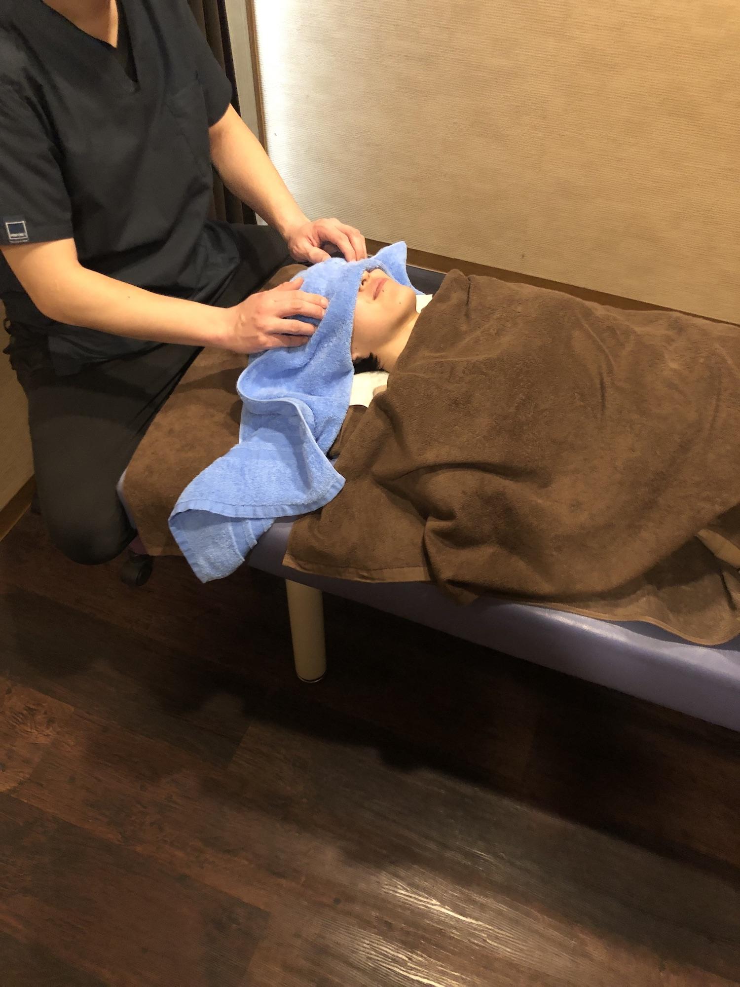 MAS療法LABO健美屋 施術の様子⑤
