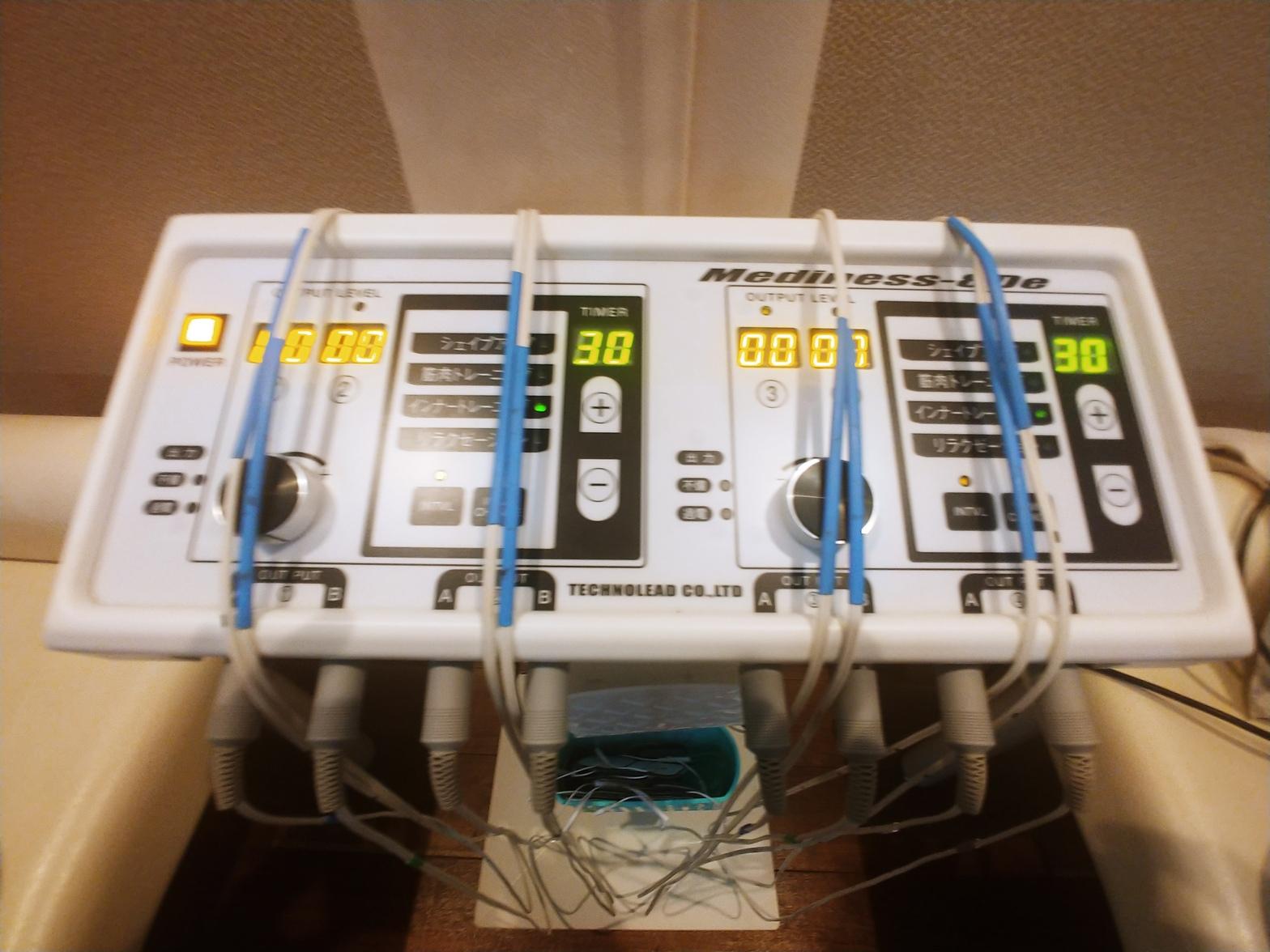 エルビオ(複合高周波EMS機器)インナーマッスルトレーニング
